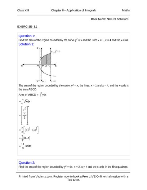NCERT Books Free Download for Class 12 Maths Chapter-8
