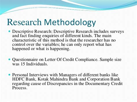 Kotak Mahindra Bank Letter Of Credit Presentation Summer Internship Report Shivam Kumar Sec H Letter Of Cr
