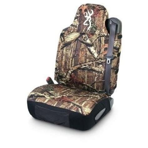 camo waterproof seat covers for trucks browning universal camo seat cover back40trading