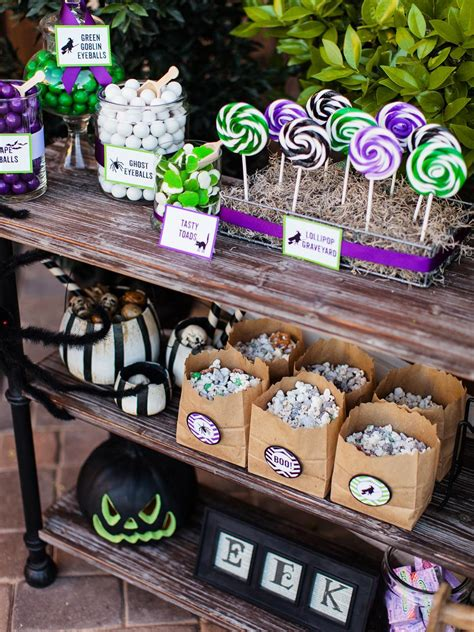 Hgtv Home Design Store halloween trick or treat candy station hgtv
