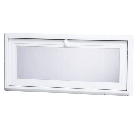 replacement basement windows lowes shop project source 32 25 in x 14 25 in 30001 series