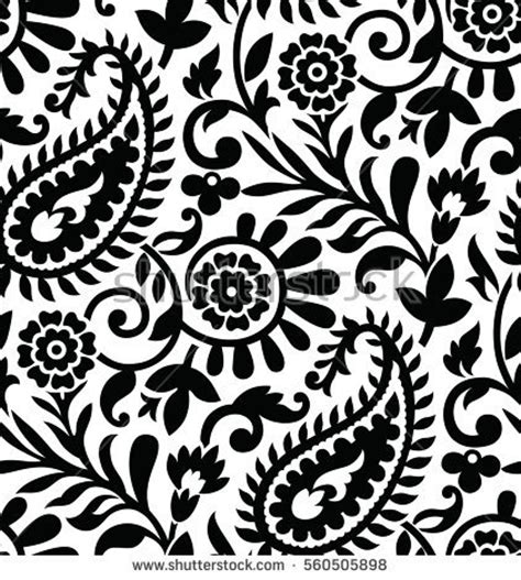 pattern clipart black and white paisley stock images royalty free images vectors