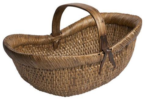 Farmer's Basket   Traditional   Baskets   by Wisteria