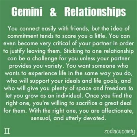 gemini and relationships quotes pinterest