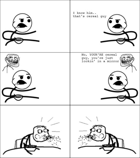 Cereal Meme - funny cereal guy