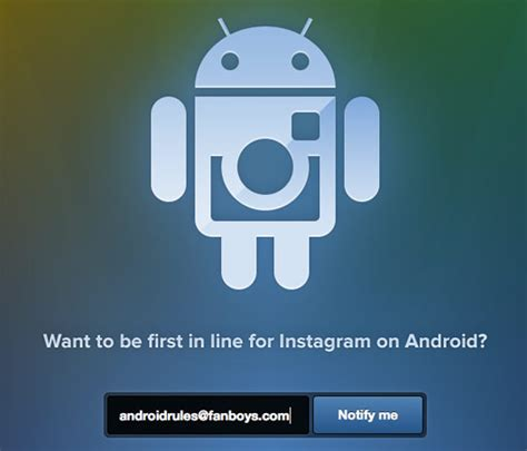 instagram on android instagram opens signup page for android port release date still unknown techman s world
