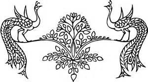 gambar ragam hias flora fauna dan geometris bagus smp ypm 3 taman kreatif dan inovatif