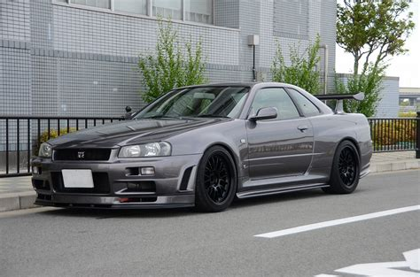 nissan skyline r34 modified 1999 r34 gtr with modified nur engine available prestige