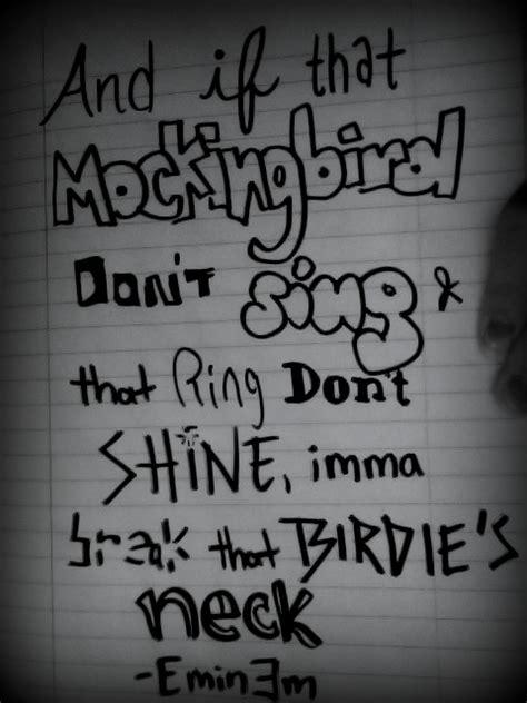 eminem mockingbird meaning meaningful quotes from eminem quotesgram