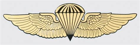 Kyle Us Army Airborne Senior Combat Cutting Sticker jump wings clipart clipground