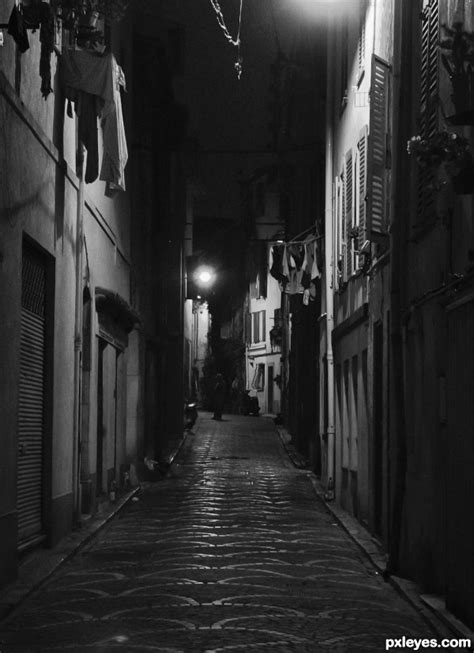 themes in film noir included night street by friiskiwi dark mysterious pinterest