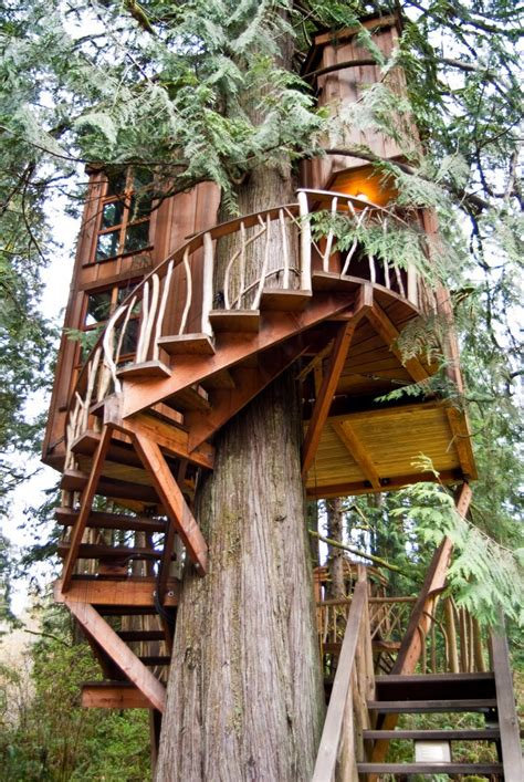 seattle treehouse point featured in animal planets 20 epic treehouses from around the world matador network