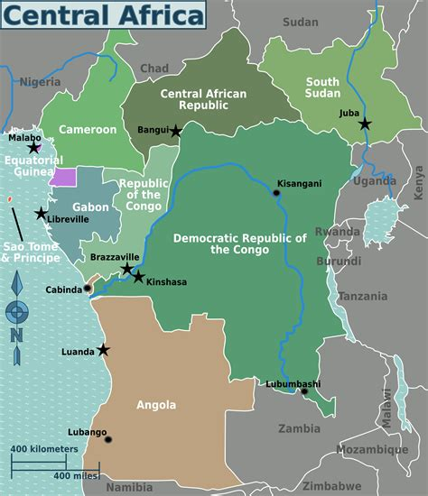 regions on a map file central africa regions map png wikimedia commons