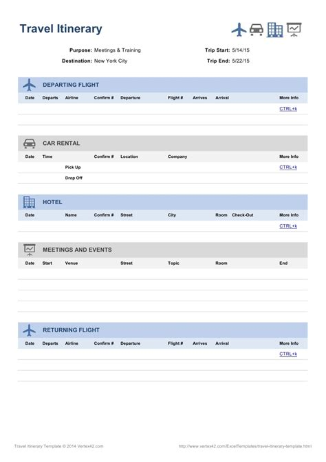 airline itinerary template itinerary template free create edit fill and