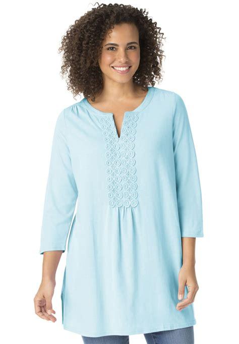 Blouse Katun Bigsize 3 l 9xl plus size lace tunic t shirt top shirt large size big size plus size