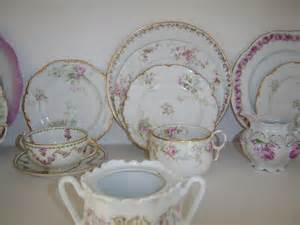 anything shabby chic rose plates