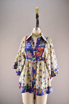 Blouse Batik Isna Green White T plus size vintage batik dress by sizeisjustanumber on