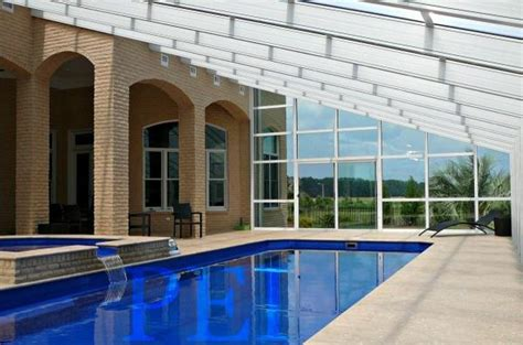 Swimming Pool Shed by Types Of Screen Pool Enclosures For Outdoor Swimming Pools
