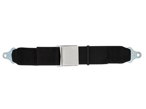 3 inch 2 point replacement seat belt chrome lift