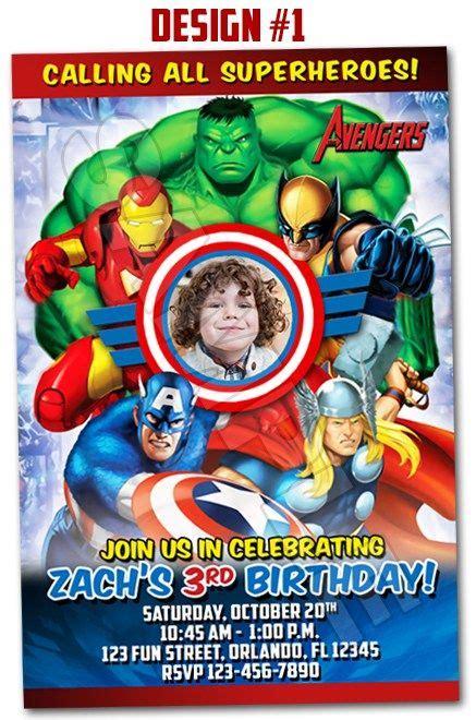 printable invitations avengers avengers superheroes movie ironman birthday party photo