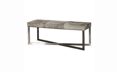 the bench company contemporary grey bench stool with free delivery