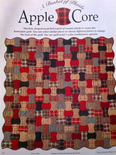 quilt pattern apple core 2075 best images about all things quilting on pinterest