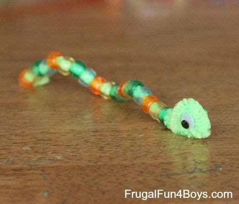 pony bead snake pattern 1000 ideas about pipe cleaner animals on pipe