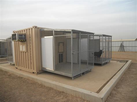 kennel plans containerized k9 kennel armag corporation