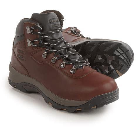 hi tec altitude iv waterproof hiking boot mens hi tec altitude iv plus hiking boots for save 40