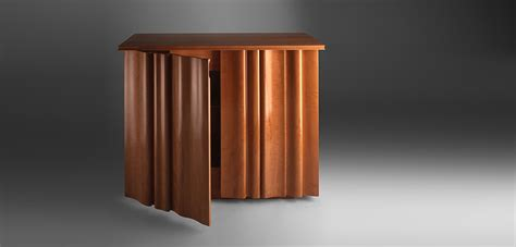 bespoke linenfold modern cabinets fine furniture maker