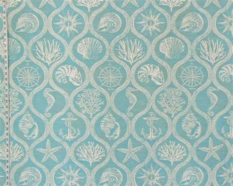 pattern outdoor fabric outdoor seashell fabrics one pattern three colors