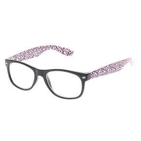 Pink And Black Glasses fashion s