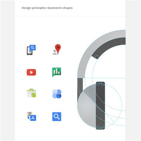google design guidelines a rare peek at the guidelines that dictate google s