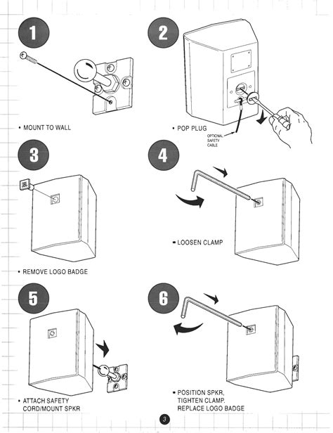 JBL INSTRUCTION MANUAL CHARGE 3 - Auto Electrical Wiring
