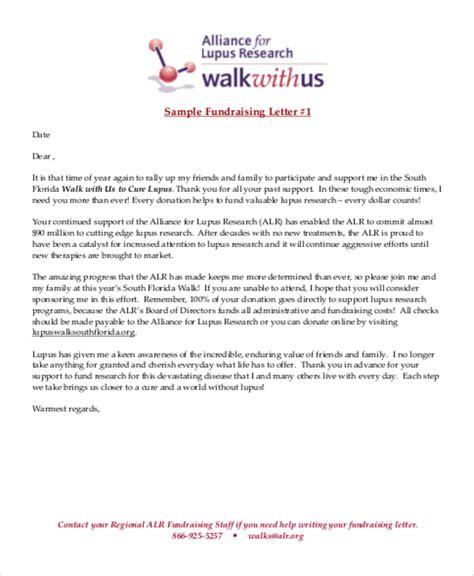 thank you letter exles for sponsorship sle fund raiser thank you letter 6 exles in word pdf