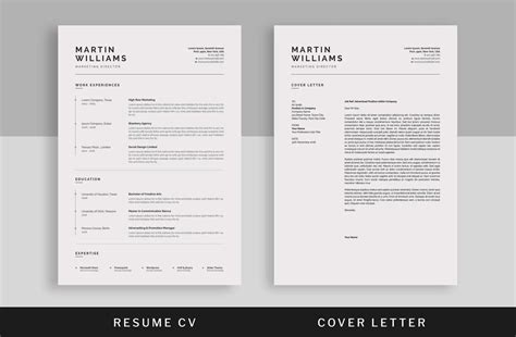 Basic Resume Templates 15 Exles To Download Use Now Uptowork Cover Letter Template