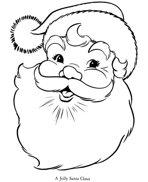 Santa Claus Coloring Page search results for santa coloring page calendar 2015