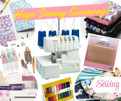 Sewing Giveaway - 187 competitions