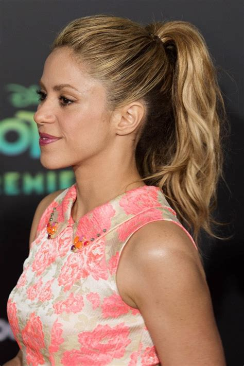 Shakira Hairstyle by Shakira S Hairstyles Hair Colors Style