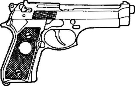 9mm Drawing by Section V Unit Maintenance Procedures Beretta 92f 9mm Pistol