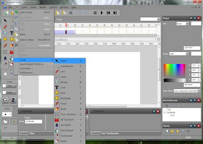 tutorial membuat desain web dengan joomla membuat animasi dengan vectorian giotto tutorial web