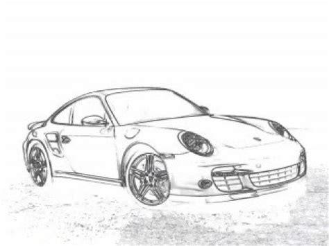 auto draw auto draw how to draw a porsche