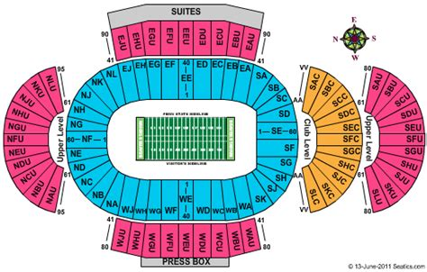 penn state football seating chart penn state football tickets seating chart beaver stadium