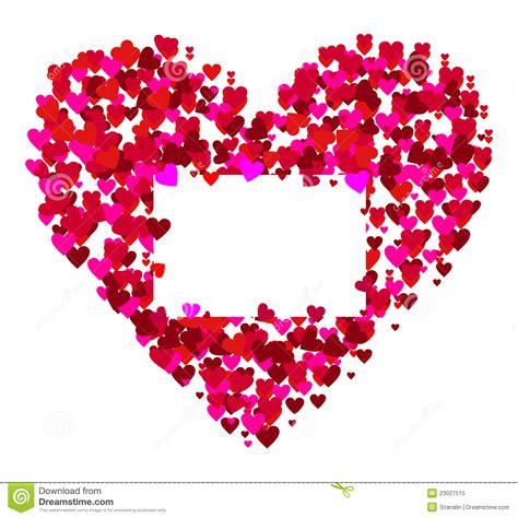 imagenes vectores san valentin marco de las tarjetas del d 237 a de san valent 237 n vector