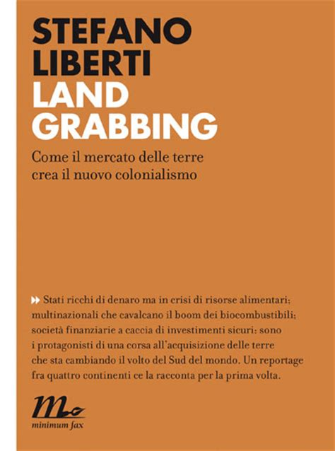 libreria minimum fax libreria griot 187 liberti stefano land grabbing