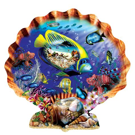 Puzzle Sea souvenirs of the sea shaped puzzle puzzlewarehouse