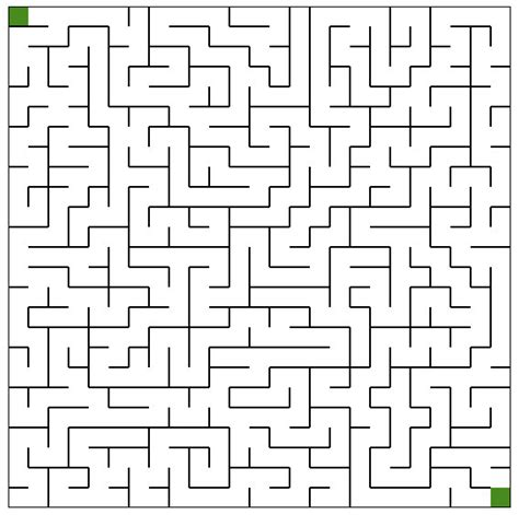 maze template printable mazes freeology