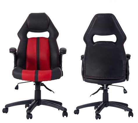 merax purple gaming chair merax ergonomic racing style pu leather