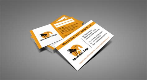 Interior Designing For Home business card design and printing for tours and travel agency