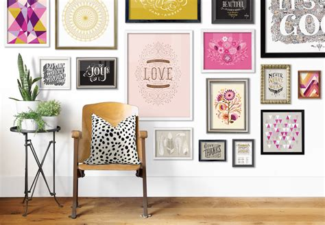 Pottery Barn Gallery Frames How To Build A Gallery Wall For Your Home Cornelius Today